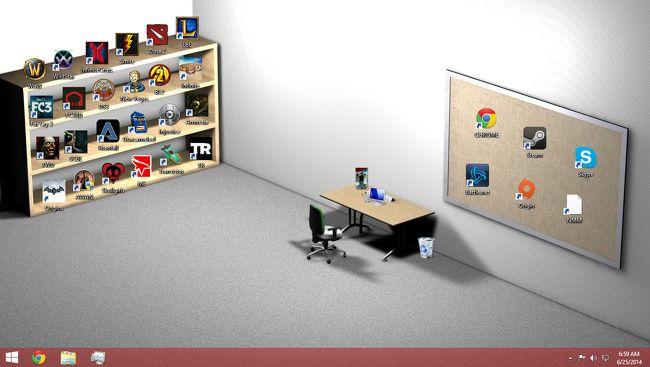élő háttérkép az asztali kereskedelemben)
