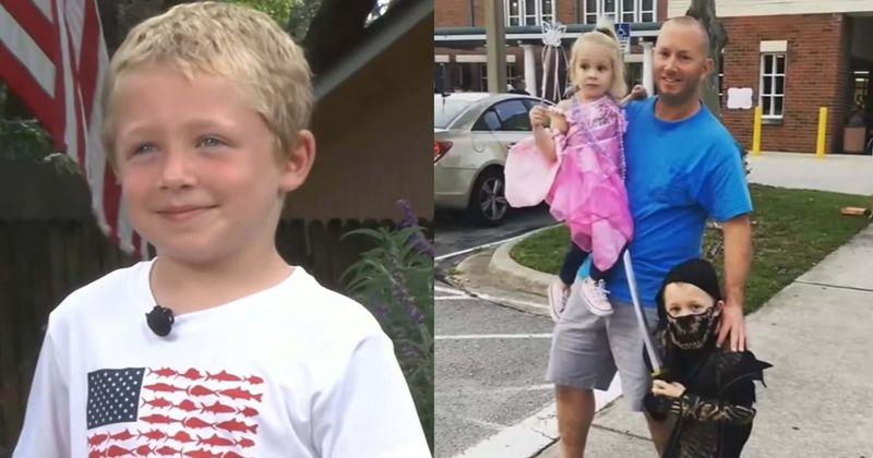 A 7 éves kisfiú közel 2 kilométert úszott azért, hogy megmentse apját és testvérét!